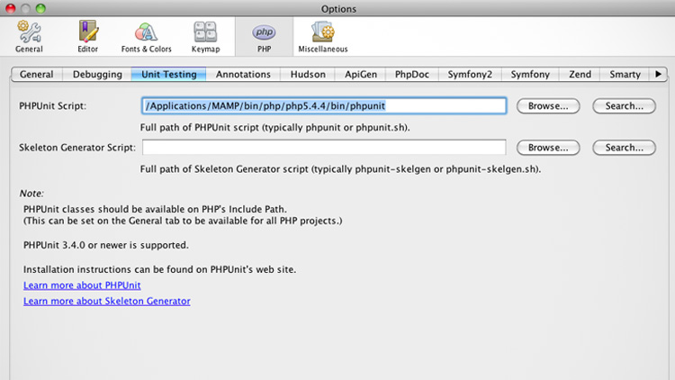 How to Install PHPUnit with MAMP on a Mac - I'M ZANK